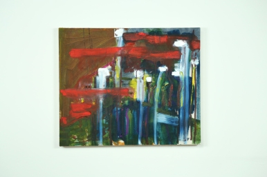 Untitled - oil on canvas, 60 x 50 cm, May 2013