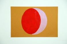 C - oil on paper, 76 x 51 cm, January 2013