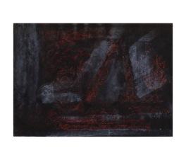 No title - Chalk, conte, marker pen on paper 29.5x21cm