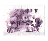 No title - Watercolour, pastel, chalk, pen on paper 29.5x21cm