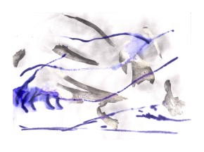 No title - Graphite, marker pen on paper 29.5x21cm