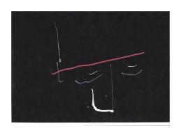 No title -Pen on paper 29.5x21cm