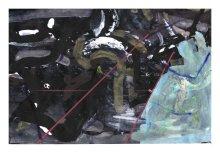 No title - Watercolour, pen on paper 28.5x19cm