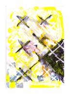 No title - Watercolour, acrylic, pen on paper 29.5x21cm
